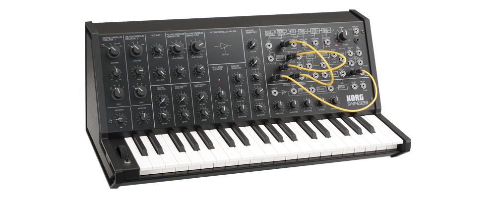 korg ms 20 mini analog synthesizer metro sound and music. Black Bedroom Furniture Sets. Home Design Ideas