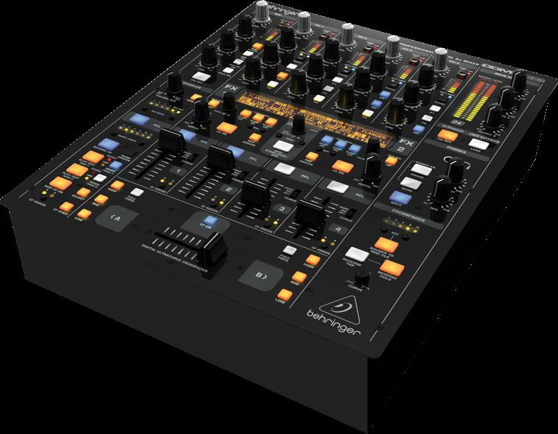 behringer europower ddm4000 5 channel dj mixer metro sound and music. Black Bedroom Furniture Sets. Home Design Ideas
