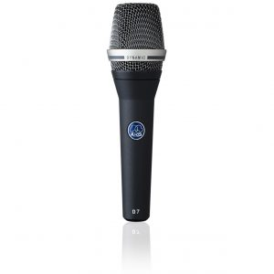 AKG D7S Reference Dynamic Vocal Microphone with On/Off Switch