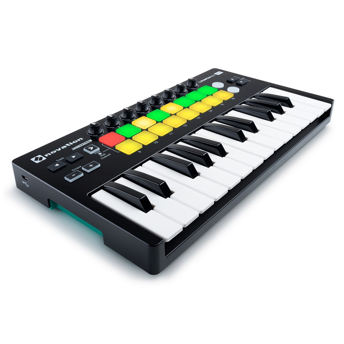 novation launchkey mini mk2 midi keyboard controller for ableton live metro sound and music. Black Bedroom Furniture Sets. Home Design Ideas