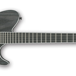 Ibanez FRIX6FEAH-CSF Iron Label (Charcoal Stained Flat) Electric Guitar & Bag
